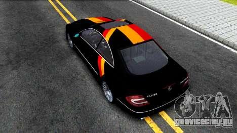 Mercedes-Benz CLK55 AMG 2003 для GTA San Andreas вид сзади