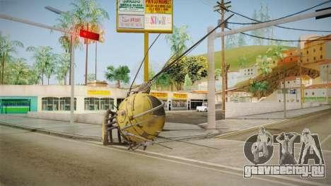 Fallout 4 DLC Automatron - Mechanist Eyebot для GTA San Andreas второй скриншот
