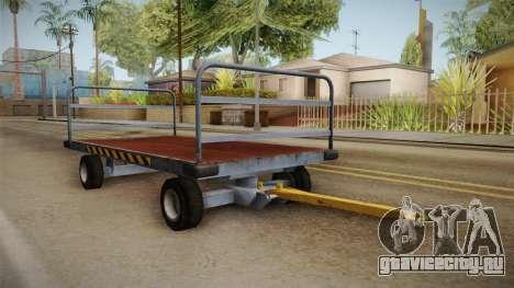 GTA 4 Airport Trailer 2 для GTA San Andreas вид справа