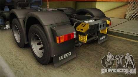 Iveco Stralis Hi-Way 560 E6 6x4 v3.2 для GTA San Andreas вид снизу