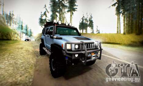 HUMMER H3 OFF ROAD для GTA San Andreas