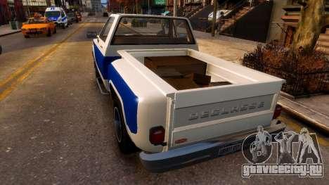 Declasse Rancher Sportside для GTA 4 вид сзади слева