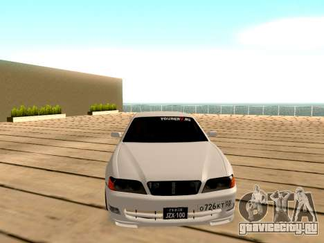 Toyota Chaser для GTA San Andreas вид изнутри