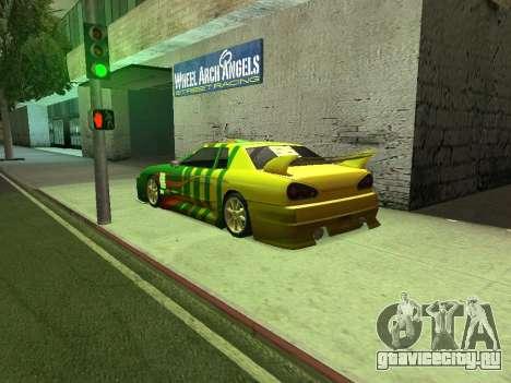 Legend566 Paint Job для GTA San Andreas вид слева