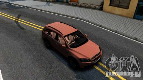 Chevrolet Captiva для GTA San Andreas вид справа