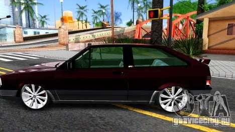 Volkswagen Gol GTI для GTA San Andreas вид слева