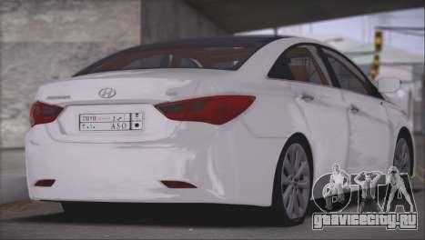 Hyundai Sonata Y20 для GTA San Andreas вид сзади слева