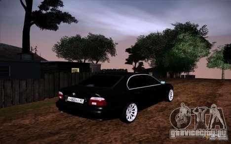 BMW M5 E39 GVR для GTA San Andreas вид сбоку
