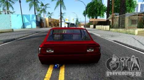 Vincent German Style для GTA San Andreas вид сзади слева