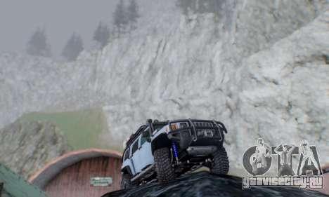 HUMMER H3 OFF ROAD для GTA San Andreas вид справа