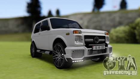 Vaz 2121 Brabus Armenia для GTA San Andreas