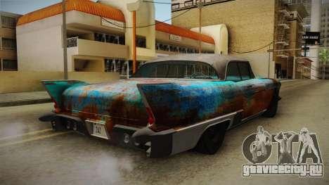 Cadillac Eldorado Brougham 1957 Rusty HQLM для GTA San Andreas вид справа