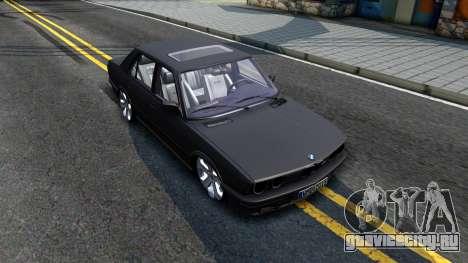 BMW M5 E28 для GTA San Andreas вид справа