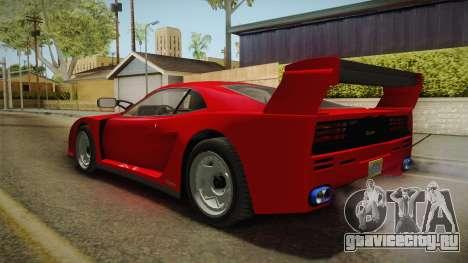 GTA 5 Grotti Turismo Classic IVF для GTA San Andreas вид слева