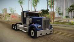 Kenworth W900 ATS 6x4 Cab Low для GTA San Andreas