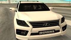 Lexus LX570 AG Armored для GTA San Andreas
