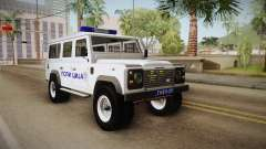 Land Rover Defender 110 Полиција