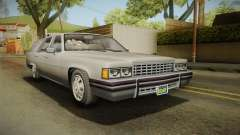 GTA 5 Albany Emperor Hearse для GTA San Andreas