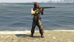 Captain Jack Sparrow 1.0 для GTA 5