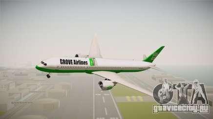 Boeing 787 Grove Airlines для GTA San Andreas