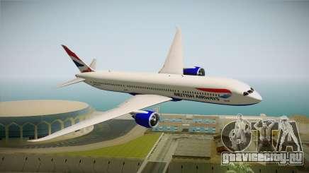 Boeing 787 British Airways для GTA San Andreas