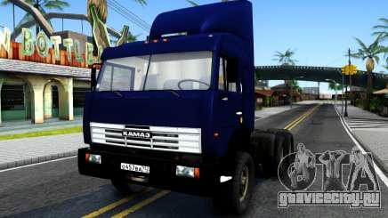 КамАЗ 54115 Синий для GTA San Andreas