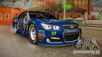 Chevrolet SS Nascar 48 Lowes 2017 для GTA San Andreas