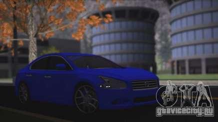 Nissan Maxima синий для GTA San Andreas