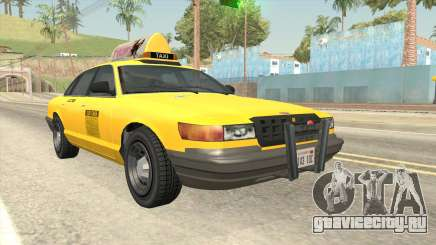 GTA 4 Taxi Car SA Style для GTA San Andreas