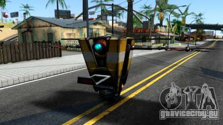 Claptrap From Borderlands для GTA San Andreas