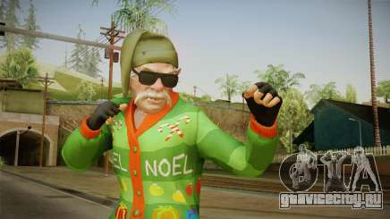 GTA 5 Special Christmas Skin для GTA San Andreas