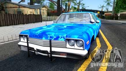 Dodge Monaco 1974 Blue Star для GTA San Andreas
