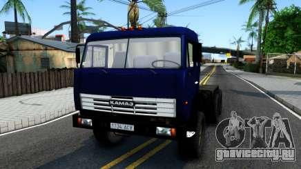 КамАЗ 54115 Синий Тягач для GTA San Andreas