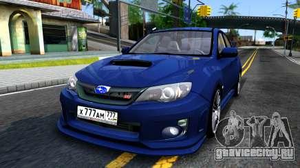 Subaru Impreza WRX STI Sedan 2011 для GTA San Andreas