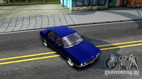 BMW E28 525e для GTA San Andreas вид справа