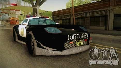 GTA 5 Bravado Banshee Supercop IVF для GTA San Andreas