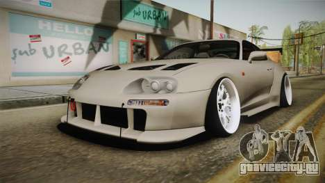 Toyota Supra Widebody для GTA San Andreas