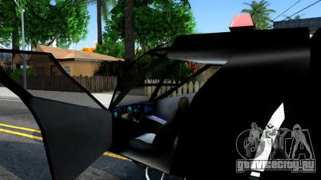 Alien Enforcer для GTA San Andreas вид изнутри