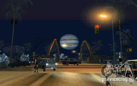 Jupiter mod для GTA San Andreas
