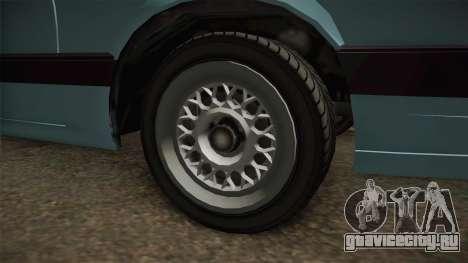 GTA 4 Uranus Cabrio для GTA San Andreas вид сзади
