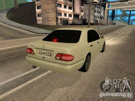 Mercedes-Benz E420 Armenian для GTA San Andreas вид справа