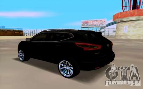 Nissan Qashqai 2016 для GTA San Andreas вид слева