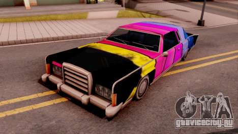 New Remington Paintjob v1 для GTA San Andreas