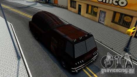 Bus of Future для GTA San Andreas вид справа