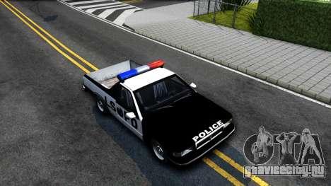 New Police Car для GTA San Andreas вид справа