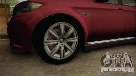 GTA 5 Bravado Gresley для GTA San Andreas вид сзади