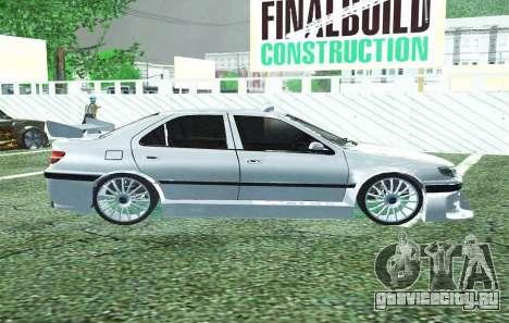 PEUGEOT 406 SL TAXI 2 для GTA San Andreas