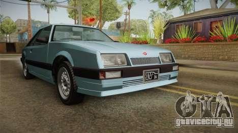 GTA 4 Uranus Cabrio для GTA San Andreas