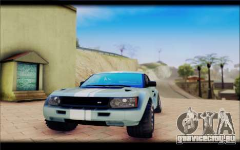 Maps Bowler Nemesis для GTA San Andreas вид справа