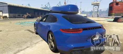Porsche Panamera 2017 для GTA 5 вид слева